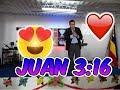 JUAN 3:16 / DE TAL MANERA AMO DIOS AL MUNDO / PREDICAS CRISTIANAS